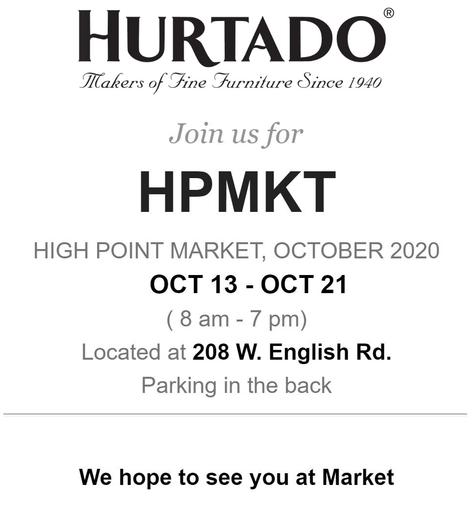 HIGH POINT MARKET OCT 13 - OCT 21, 2020